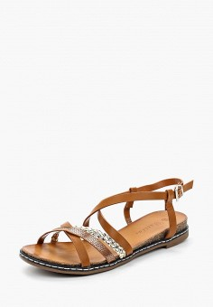 Сандалии, Catisa, цвет: коричневый. Артикул: CA072AWBMKR0. Обувь