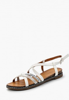 Сандалии, Catisa, цвет: белый. Артикул: CA072AWBMKR1. Обувь