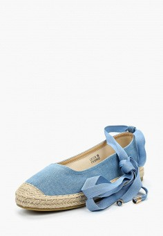 Эспадрильи, Catisa, цвет: голубой. Артикул: CA072AWBMKS2. Обувь