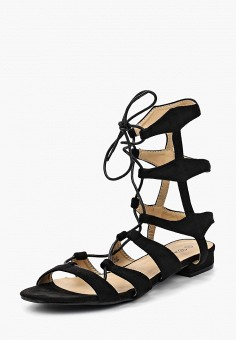 Сандалии, Catisa, цвет: черный. Артикул: CA072AWBMKS5. Обувь