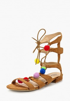 Сандалии, Catisa, цвет: коричневый. Артикул: CA072AWBMKS6. Обувь
