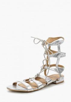 Сандалии, Catisa, цвет: серебряный. Артикул: CA072AWBMKS7. Обувь