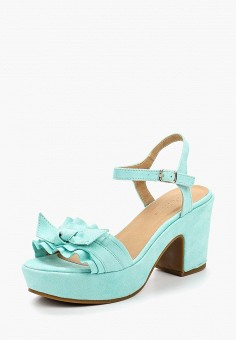 Босоножки, Catisa, цвет: бирюзовый. Артикул: CA072AWBMKU6. Обувь