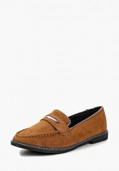 Лоферы, Catisa, цвет: коричневый. Артикул: CA072AWCOHY7. Обувь