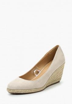 Туфли, Catisa, цвет: бежевый. Артикул: CA072AWSKD57. Обувь