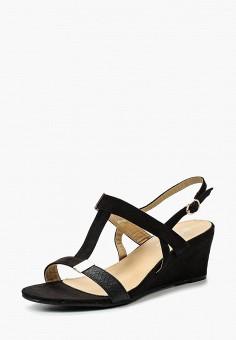 Босоножки, Catisa, цвет: черный. Артикул: CA072AWTFP03. Обувь / Босоножки