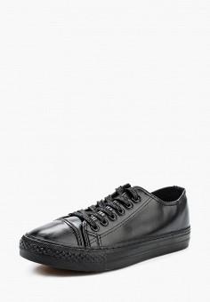 Кеды, Catisa, цвет: черный. Артикул: CA072AWVJF47. Обувь / Кроссовки и кеды / Кеды