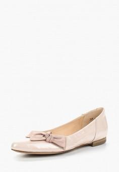 Балетки, Caprice, цвет: бежевый. Артикул: CA107AWAAHS1. Обувь / Балетки