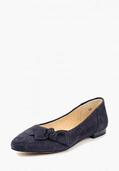 Балетки, Caprice, цвет: синий. Артикул: CA107AWAAHS2. Обувь / Балетки