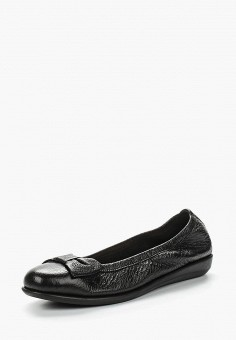Балетки, Caprice, цвет: черный. Артикул: CA107AWAAHS4. Обувь / Балетки
