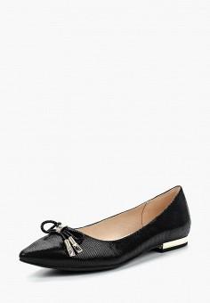 Балетки, Caprice, цвет: черный. Артикул: CA107AWAAHS8. Обувь / Балетки