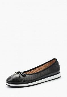 Балетки, Caprice, цвет: черный. Артикул: CA107AWAAHT4. Обувь / Балетки