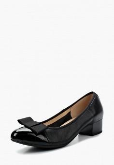 Туфли, Caprice, цвет: черный. Артикул: CA107AWAAHU3. Обувь / Туфли / Закрытые туфли