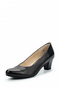 Туфли, Caprice, цвет: черный. Артикул: CA107AWAAHU5. Обувь / Туфли / Закрытые туфли