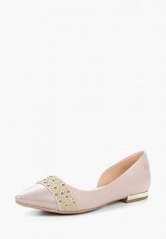 Балетки, Caprice, цвет: розовый. Артикул: CA107AWAAHZ6. Обувь / Балетки