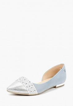 Балетки, Caprice, цвет: голубой. Артикул: CA107AWAAHZ7. Обувь / Балетки