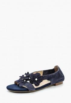 Сандалии, Caprice, цвет: синий. Артикул: CA107AWAAIE6. Обувь / Сандалии