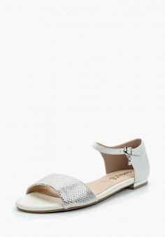 Сандалии, Caprice, цвет: серебряный. Артикул: CA107AWAAIF6. Обувь