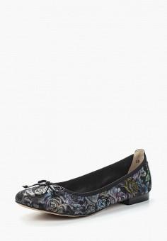 Балетки, Caprice, цвет: черный. Артикул: CA107AWAAIX3. Обувь / Балетки
