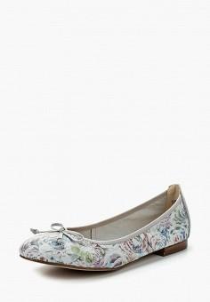 Балетки, Caprice, цвет: голубой. Артикул: CA107AWAAIX5. Обувь / Балетки