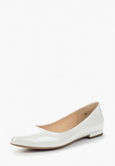 Балетки, Caprice, цвет: белый. Артикул: CA107AWAAIY2. Обувь / Балетки