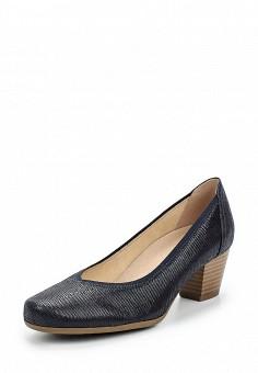 Туфли, Caprice, цвет: синий. Артикул: CA107AWAAJB4. Обувь / Туфли / Закрытые туфли