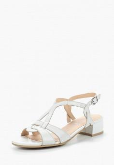 Босоножки, Caprice, цвет: белый. Артикул: CA107AWAAJG9. Обувь / Босоножки