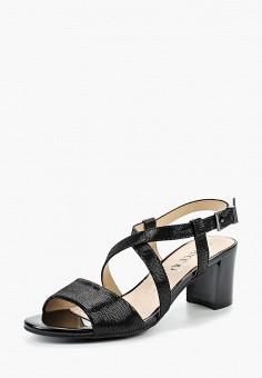 Босоножки, Caprice, цвет: черный. Артикул: CA107AWAAJH6. Обувь / Босоножки
