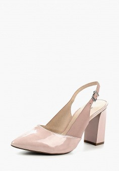 Туфли, Caprice, цвет: розовый. Артикул: CA107AWAAJJ9. Обувь