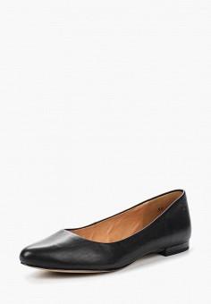 Балетки, Caprice, цвет: черный. Артикул: CA107AWUCY26. Обувь / Балетки