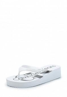 Сланцы, Calvin Klein Jeans, цвет: . Артикул: CA939AWAPQB8.