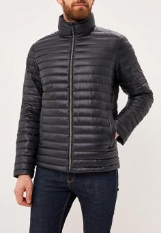 Пуховик, Calvin Klein Jeans, цвет: черный. Артикул: CA939EMBTJZ2. Одежда / Верхняя одежда / Пуховики и зимние куртки