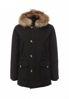 Пуховик, Canadian, цвет: черный. Артикул: CA998EMUSX31. Премиум / Одежда / Верхняя одежда / Пуховики