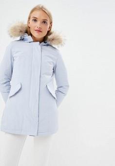 Пуховик, Canadian, цвет: голубой. Артикул: CA998EWBXRD6. Одежда / Верхняя одежда / Зимние куртки
