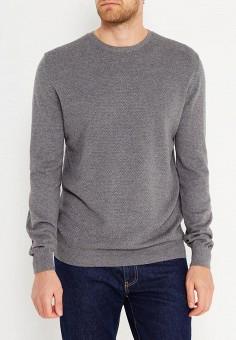 Джемпер, Celio, цвет: серый. Артикул: CE007EMVGO59. Одежда / Джемперы, свитеры и кардиганы