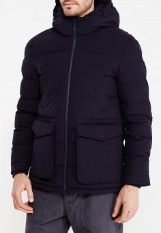 Куртка утепленная, Celio, цвет: синий. Артикул: CE007EMVGP32. Одежда / Верхняя одежда / Пуховики и зимние куртки