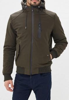 Куртка утепленная, Chromosome, цвет: зеленый. Артикул: CH036EMCWYH3. Одежда / Верхняя одежда / Пуховики и зимние куртки