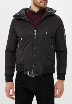 Куртка утепленная, Chromosome, цвет: черный. Артикул: CH036EMCWYH8. Одежда / Верхняя одежда / Демисезонные куртки
