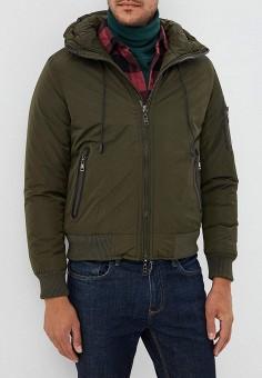 Куртка утепленная, Chromosome, цвет: хаки. Артикул: CH036EMCWYH9. Одежда / Верхняя одежда / Демисезонные куртки
