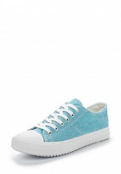Кеды, Chicmuse, цвет: бирюзовый. Артикул: CH053AWAWSU3. Обувь / Кроссовки и кеды / Кеды