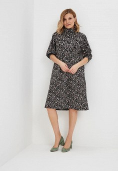Платье, Chic de Femme, цвет: черный. Артикул: CH055EWATHE9. Одежда