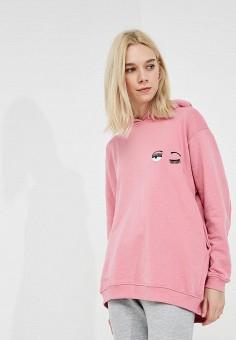 Худи, Chiara Ferragni Collection, цвет: розовый. Артикул: CH057EWAMHN0. Одежда / Толстовки и свитшоты