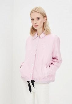 Куртка, Cheap Monday, цвет: розовый. Артикул: CH839EWAAMY5. Одежда / Верхняя одежда / Легкие куртки и ветровки