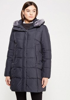 Куртка утепленная, Clasna, цвет: серый. Артикул: CL016EWYFC81. Одежда / Верхняя одежда
