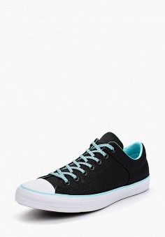 Кеды, Converse, цвет: черный. Артикул: CO011AMBJUX2. Обувь / Кроссовки и кеды / Кеды