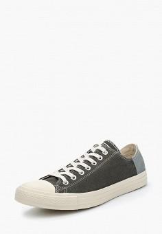 Кеды, Converse, цвет: серый. Артикул: CO011AMBJUY2. Обувь / Кроссовки и кеды / Кеды