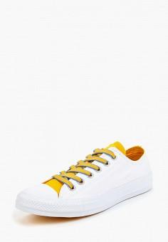 Кеды, Converse, цвет: белый. Артикул: CO011AUBJUZ3. Обувь / Кроссовки и кеды / Кеды