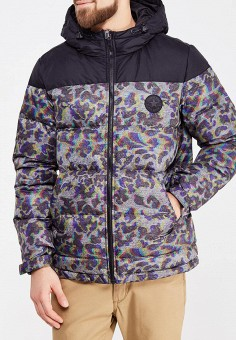 Пуховик, Converse, цвет: серый. Артикул: CO011EMYZJ26. Одежда / Верхняя одежда / Пуховики и зимние куртки