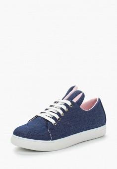 Кеды, Coco Perla, цвет: синий. Артикул: CO039AWBDBK7. Обувь / Кроссовки и кеды / Кеды