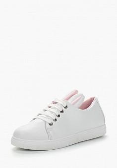 Кеды, Coco Perla, цвет: белый. Артикул: CO039AWBDBK8. Обувь / Кроссовки и кеды / Кеды